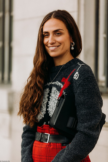 Charlotte Deckers Photography   FashionWeek Paris SS19 Fashion Streetstyle Erika Boldrin