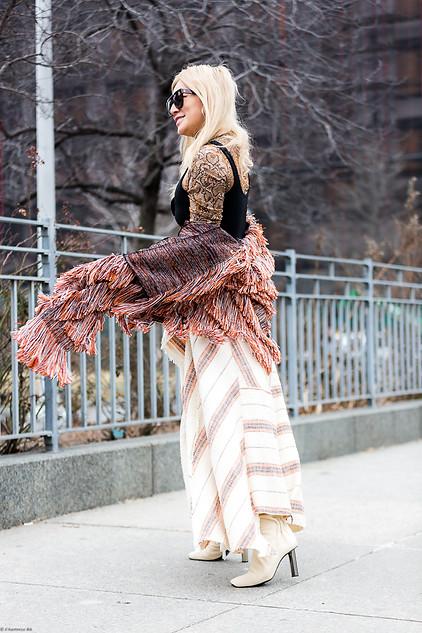 Charlotte Deckers Photography   FashionWeek NewYork AW19 Fashion Streetstyle Tina Leung