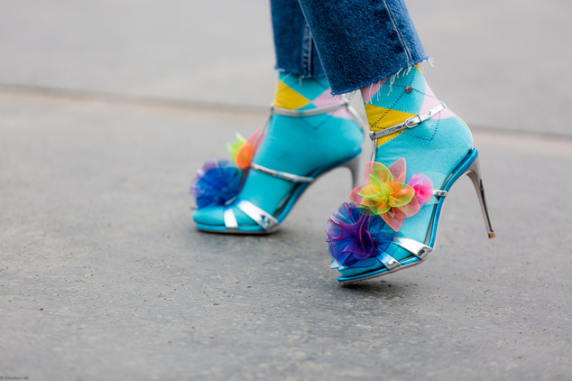 Charlotte Deckers Photography | FashionWeek Paris SS18 Fashion Streetstyle Closeup shoes Tatamuc