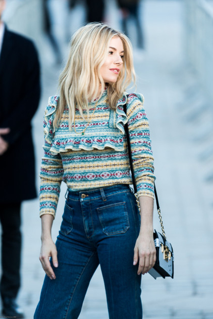 Charlotte Deckers Photography | FashionWeek Paris SS18 Fashion Streetstyle Sienna Miller