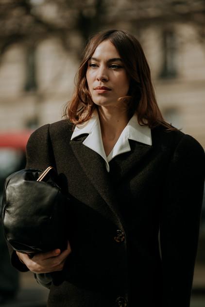 Charlotte Deckers Photography   FashionWeek Paris AW20 Fashion Streetstyle Miumiu Alexa Chung