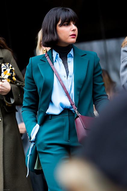 Charlotte Deckers Photography   FashionWeek NewYork AW19 Fashion Streetstyle Maria Bernad