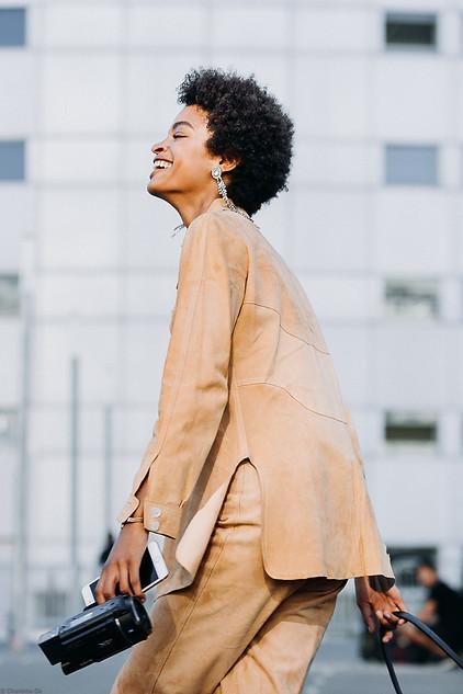 Charlotte Deckers Photography   FashionWeek Paris SS19 Fashion Streetstyle Theresa Hayes