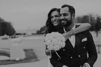 Charlotte Deckers Photography | Wedding Photographer | Bridal Couple Shooting Black & White