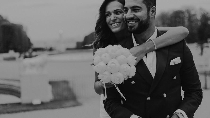 Charlotte Deckers Photography | Wedding Photographer | Bridal Couple Shooting Black & White