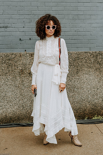 Charlotte Deckers Photography | FashionWeek NewYork SS19 Fashion Streetstyle Scout The City