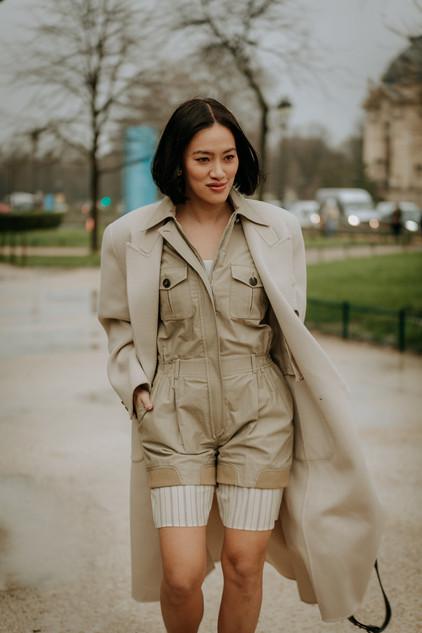 Charlotte Deckers Photography   FashionWeek Paris AW20 Fashion Streetstyle Tiffany Hsu