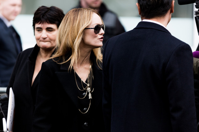 Charlotte Deckers Photography | FashionWeek Paris SS18 Fashion Streetstyle Vanessa Paradis