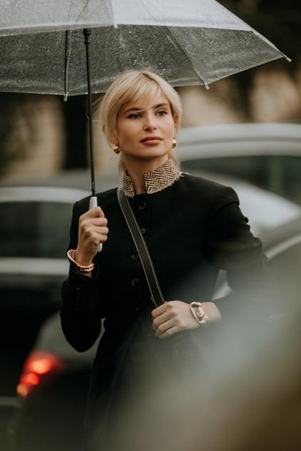 Charlotte Deckers Photography   FashionWeek Paris AW20 Fashion Streetstyle Xenia Adonts