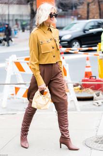 Charlotte Deckers Photography | FashionWeek NewYork AW19 Fashion Streetstyle Xenia Adonts