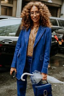 Charlotte Deckers Photography | FashionWeek NewYork SS19 Fashion Streetstyle Elaine Welteroth