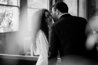 Charlotte Deckers Photography | Wedding Photographer | Couple Saying Yes at Town Hall