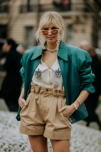 Charlotte Deckers Photography | FashionWeek Paris AW20 Fashion Streetstyle Miumiu Xenia Adonts