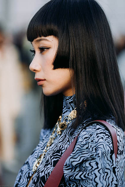 Charlotte Deckers Photography   FashionWeek Paris SS19 Fashion Streetstyle Yulia