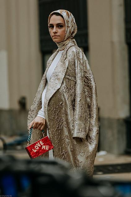 Charlotte Deckers Photography   FashionWeek NewYork SS19 Fashion Streetstyle Mademoiselle Meme