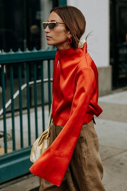Charlotte Deckers Photography   FashionWeek NewYork SS19 Fashion Streetstyle Loulou de Saison