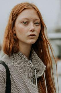 Charlotte Deckers Photography | FashionWeek NewYork SS19 Fashion Streetstyle Model Walldamort