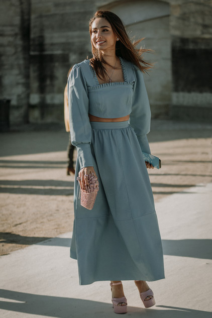 Charlotte Deckers Photography | FashionWeek Paris AW20 Fashion Streetstyle Patricia Gloria Contreras
