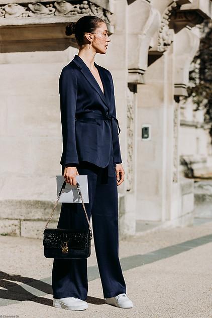 Charlotte Deckers Photography   FashionWeek Paris SS19 Fashion Streetstyle Maeva Marshall