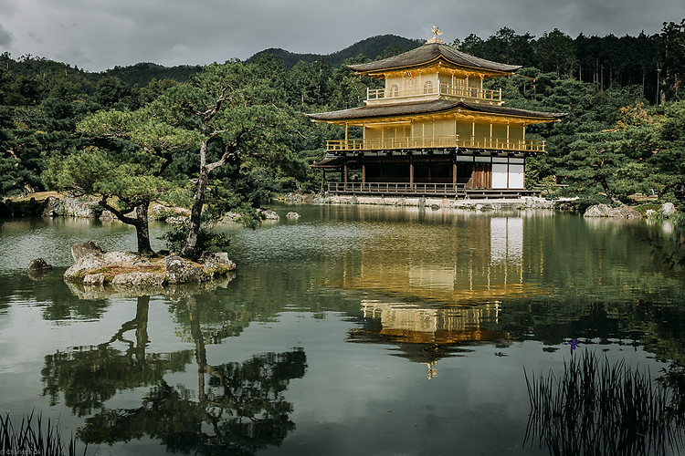Charlotte Deckers Photography | Travel Photo Kyoto Japan | Yellow Lake Temple
