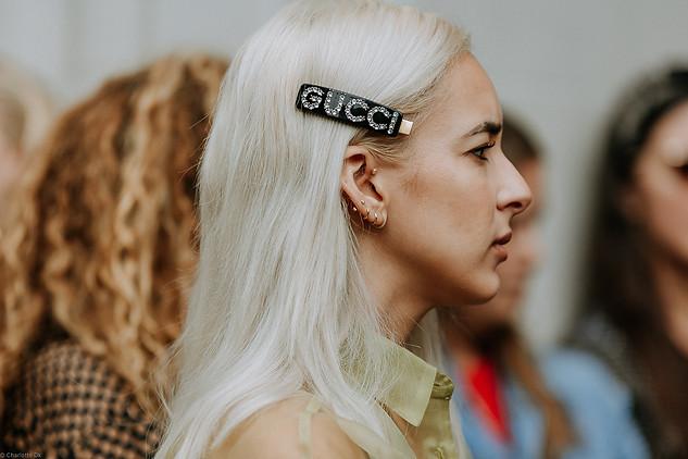 Charlotte Deckers Photography   FashionWeek NewYork SS19 Fashion Streetstyle Closeup Gucci