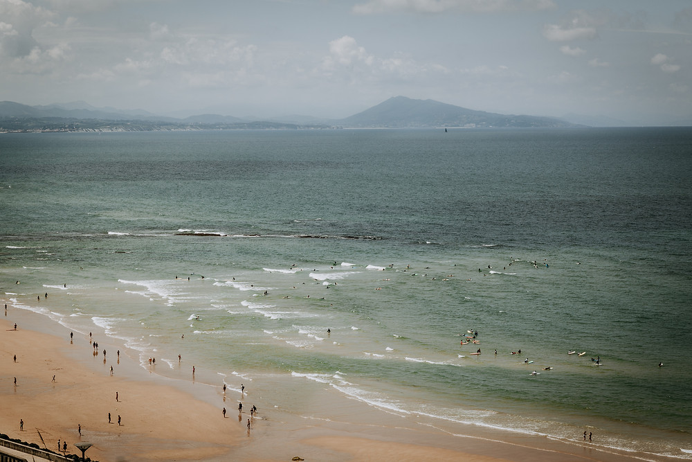Charlotte Deckers Photography Travel Photographer Biarritz Basque Country Surfers Seascape