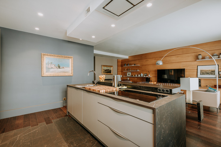 Charlotte Deckers Photography   Interior Photographer   IMMO Apartment Kitchen Living Room