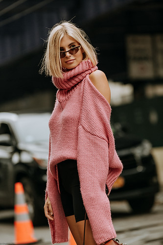Charlotte Deckers Photography | FashionWeek NewYork SS19 Fashion Streetstyle Xenia Adonts