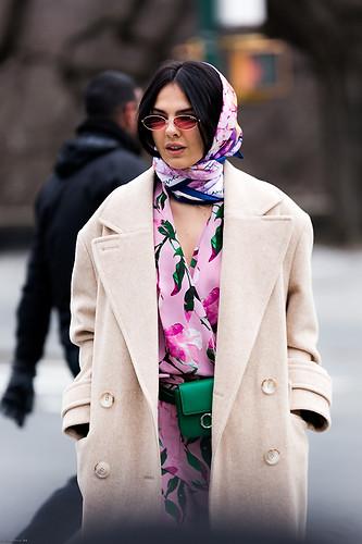 Charlotte Deckers Photography | FashionWeek NewYork AW19 Fashion Streetstyle Donia