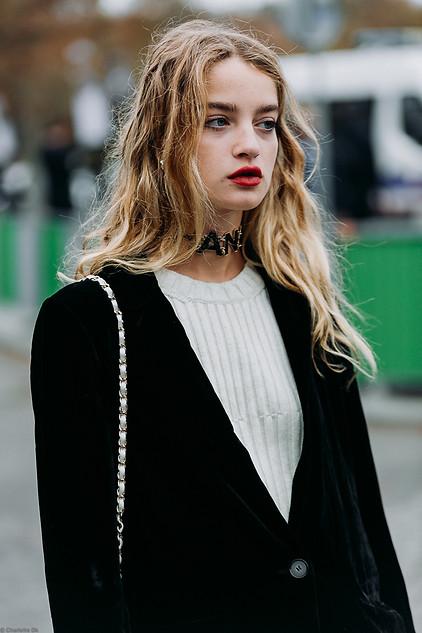 Charlotte Deckers Photography   FashionWeek Paris SS19 Fashion Streetstyle Adele Farine