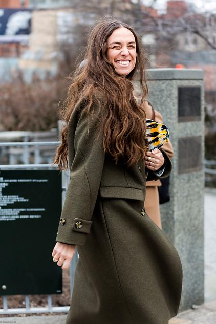 Charlotte Deckers Photography   FashionWeek NewYork AW19 Fashion Streetstyle Erika Boldrin