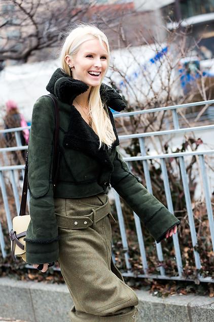Charlotte Deckers Photography   FashionWeek NewYork AW19 Fashion Streetstyle Kate Davidson Hudson