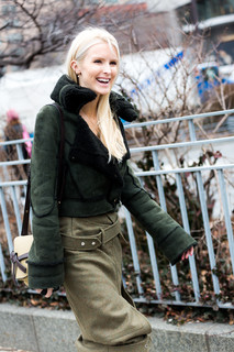 Charlotte Deckers Photography | FashionWeek NewYork AW19 Fashion Streetstyle Kate Davidson Hudson