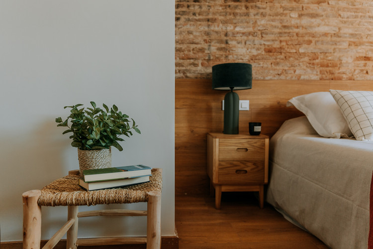 Charlotte Deckers Photography   Interior Photographer   IMMO Apartment Bed Room Detail
