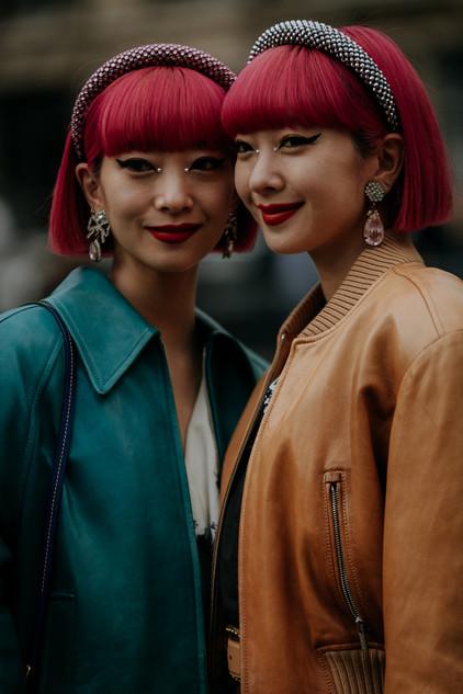 Charlotte Deckers Photography   FashionWeek Paris AW20 Fashion Streetstyle Aya x Ami