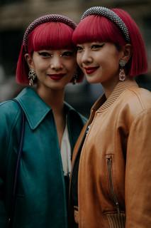 Charlotte Deckers Photography | FashionWeek Paris AW20 Fashion Streetstyle Aya x Ami