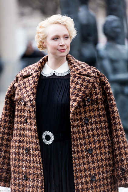 Charlotte Deckers Photography | FashionWeek Paris SS18 Fashion Streetstyle Gwendoline Christie