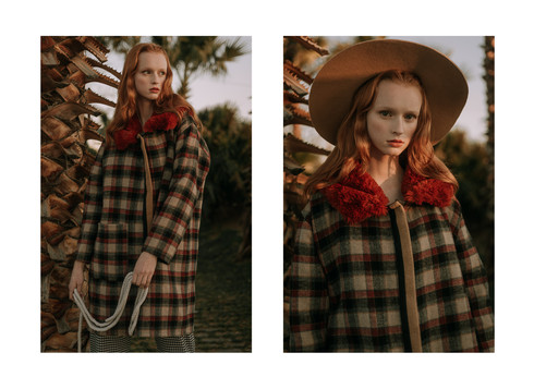 Charlotte Deckers Photography | Fashion Editorial Photoshoot Exterior Female Model wearing a hat