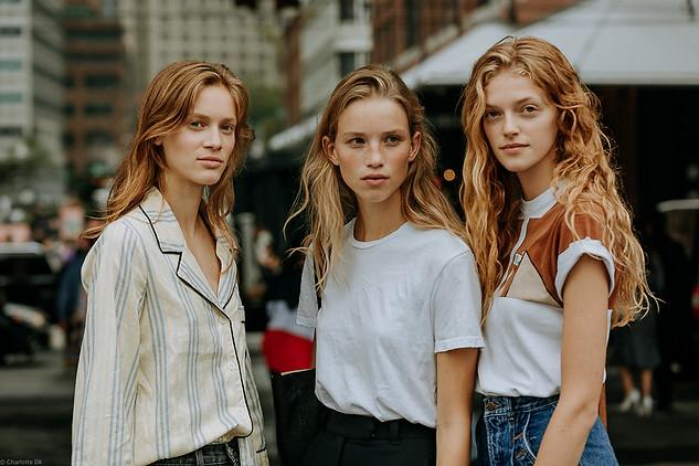 Charlotte Deckers Photography   FashionWeek NewYork SS19 Fashion Streetstyle Models