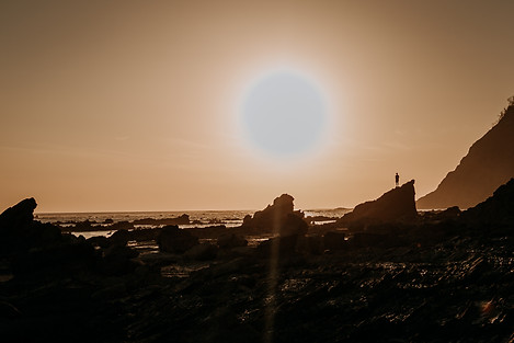 Charlotte Deckers Photography | Travel Photo Costa Rica | Sea Sunset