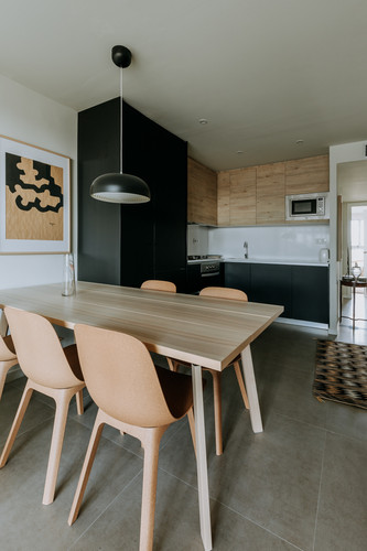 Charlotte Deckers Photography   Interior Photographer   IMMO Apartment Kitchen Dining Room
