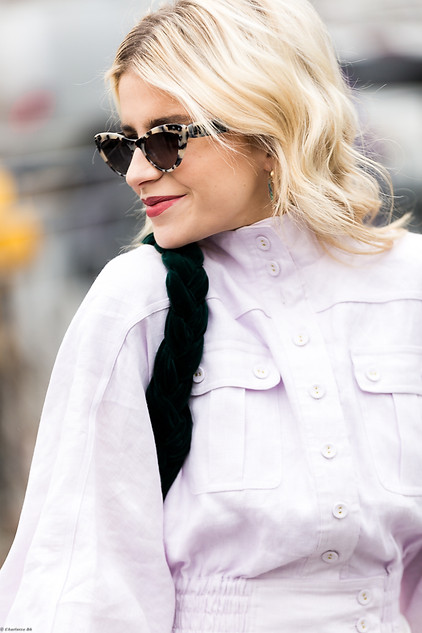 Charlotte Deckers Photography   FashionWeek NewYork AW19 Fashion Streetstyle Caro Daur