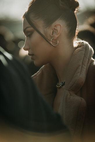 Bella Hadid Fashionweek Photographer in Barcelona