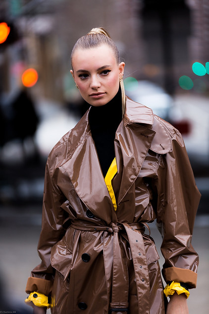 Charlotte Deckers Photography   FashionWeek NewYork AW19 Fashion Streetstyle Maya Stepper