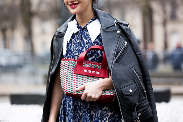 Charlotte Deckers Photography | FashionWeek Paris SS18 Fashion Streetstyle MiuMiu