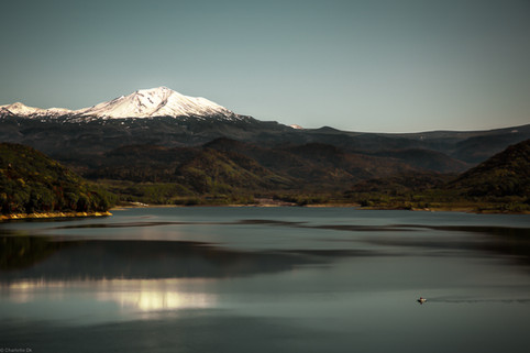 Charlotte Deckers Photography   Landscape Photographer   Snowed Mountain at Lake