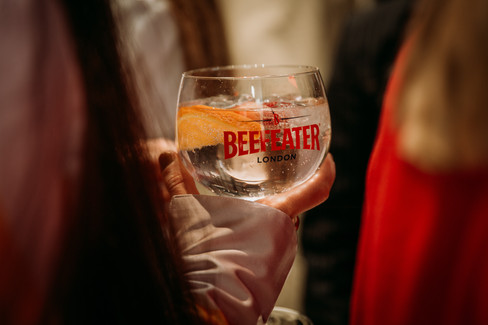 Charlotte Deckers Photography | Event Photographer | Glass Beefeater Gin Tonic