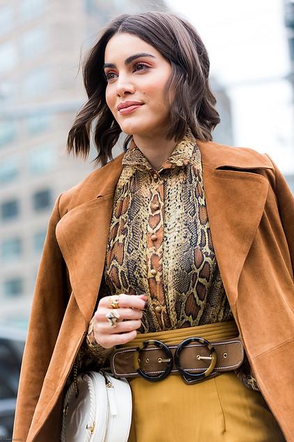 Charlotte Deckers Photography   FashionWeek NewYork AW19 Fashion Streetstyle Camila Coelho