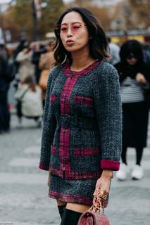 Charlotte Deckers Photography | FashionWeek Paris SS19 Fashion Streetstyle Aimee Song