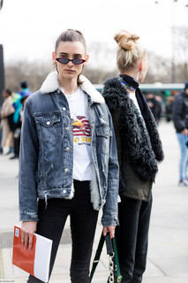 Charlotte Deckers Photography | FashionWeek Paris SS18 Fashion Streetstyle Chanel Model